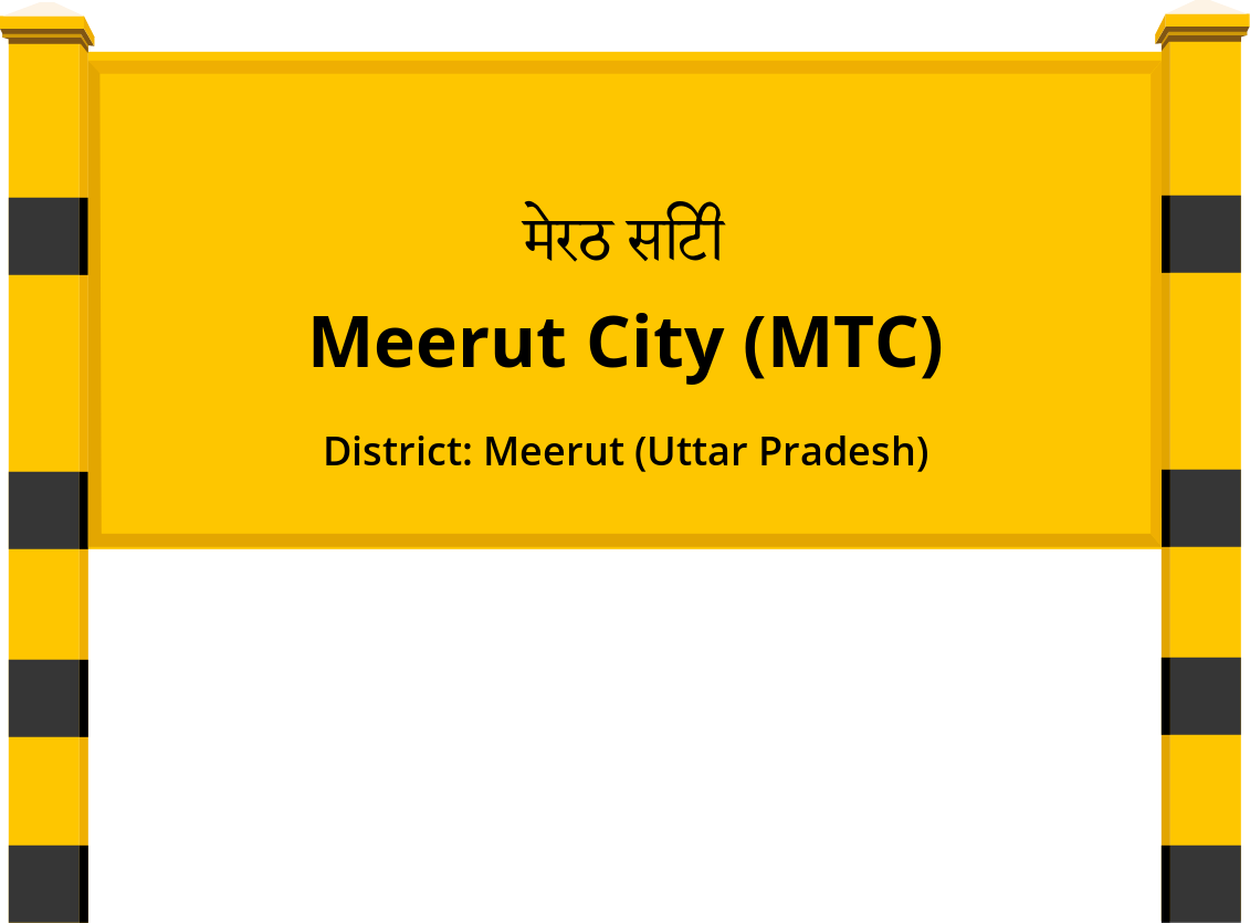 Meerut City (MTC) Railway Station