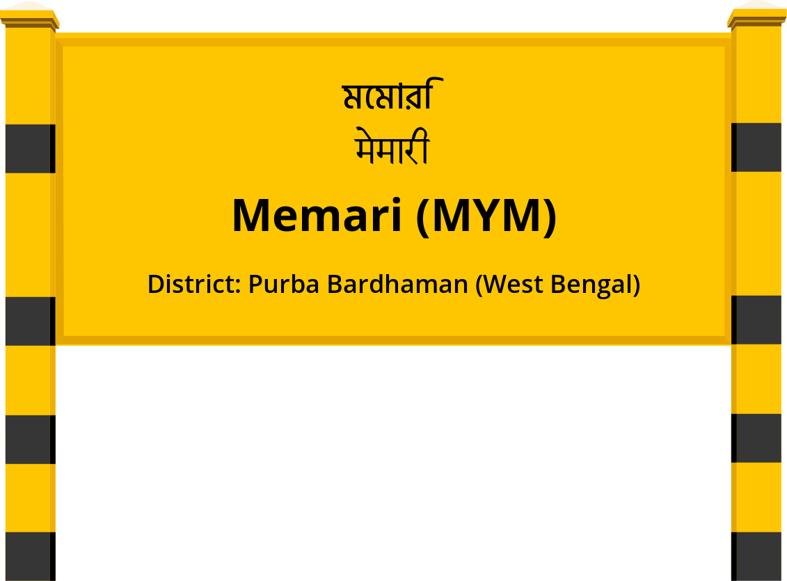 Memari (MYM) Railway Station