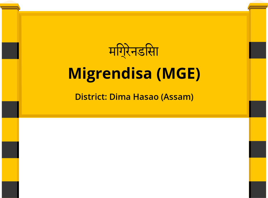 Migrendisa (MGE) Railway Station