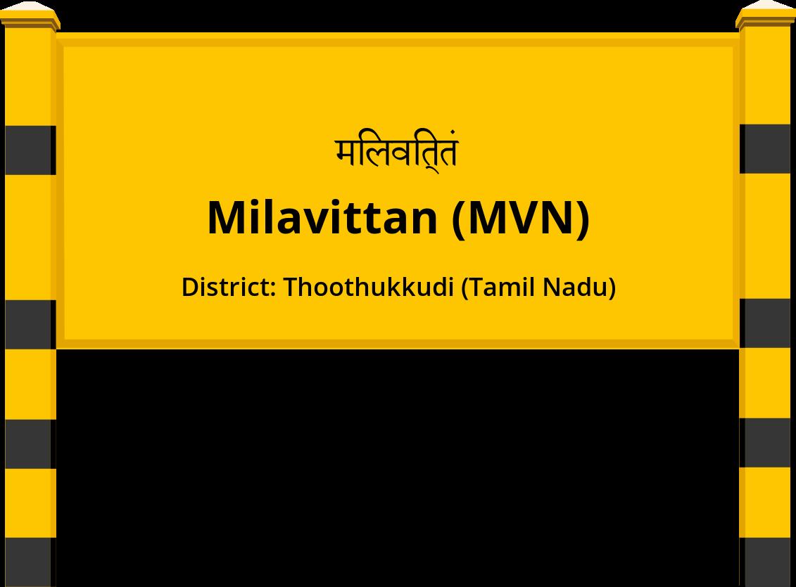 Milavittan (MVN) Railway Station