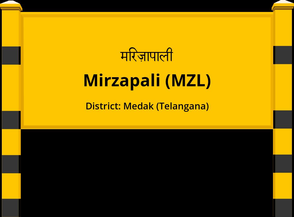 Mirzapali (MZL) Railway Station