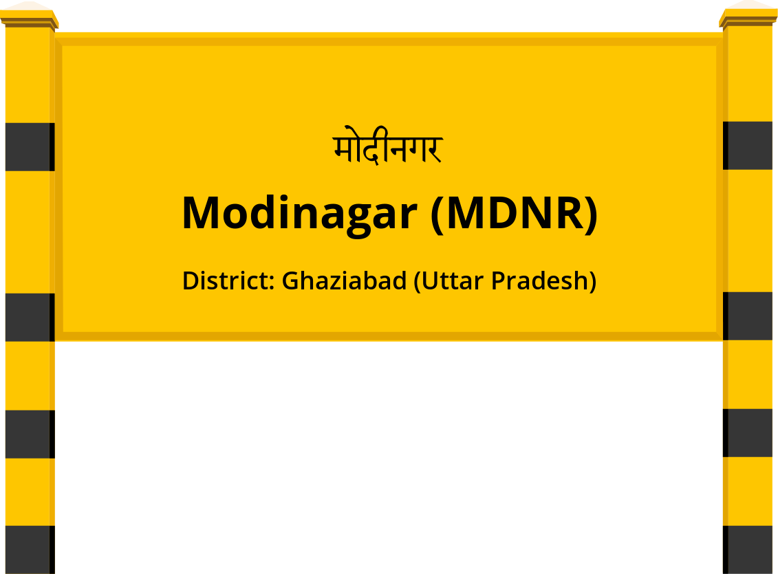 Modinagar (MDNR) Railway Station