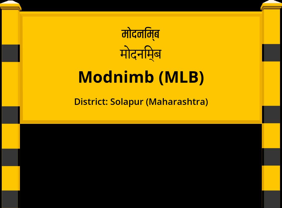 Modnimb (MLB) Railway Station