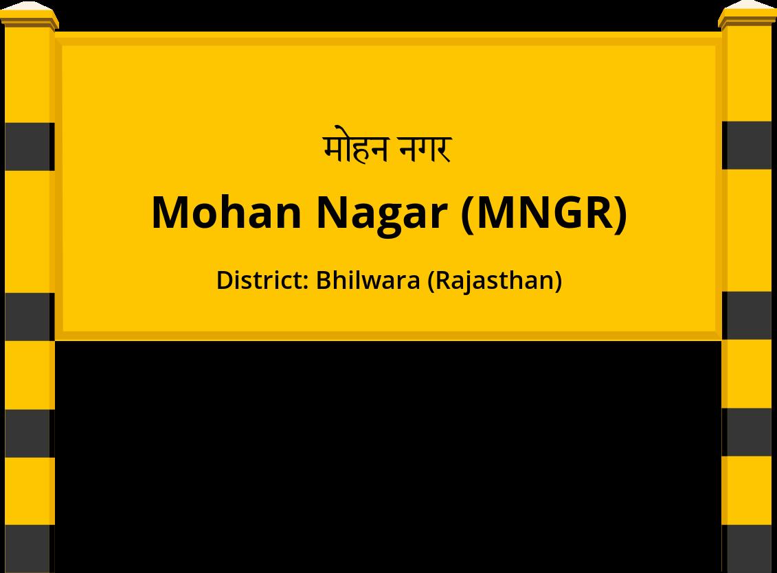 Mohan Nagar (MNGR) Railway Station