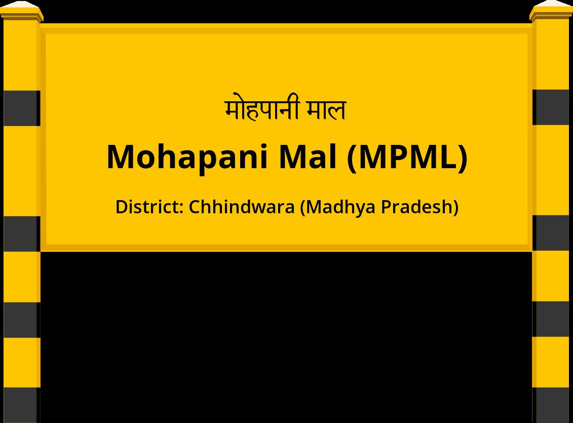 Mohapani Mal (MPML) Railway Station