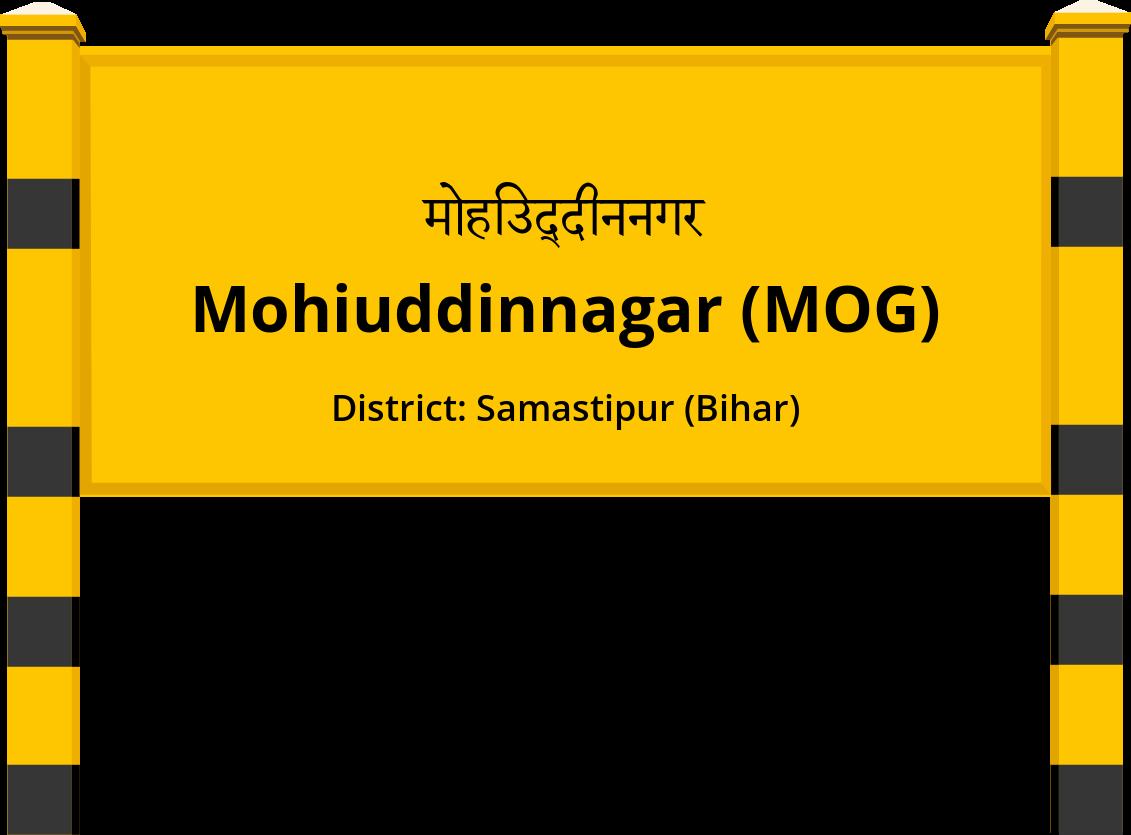 Mohiuddinnagar (MOG) Railway Station