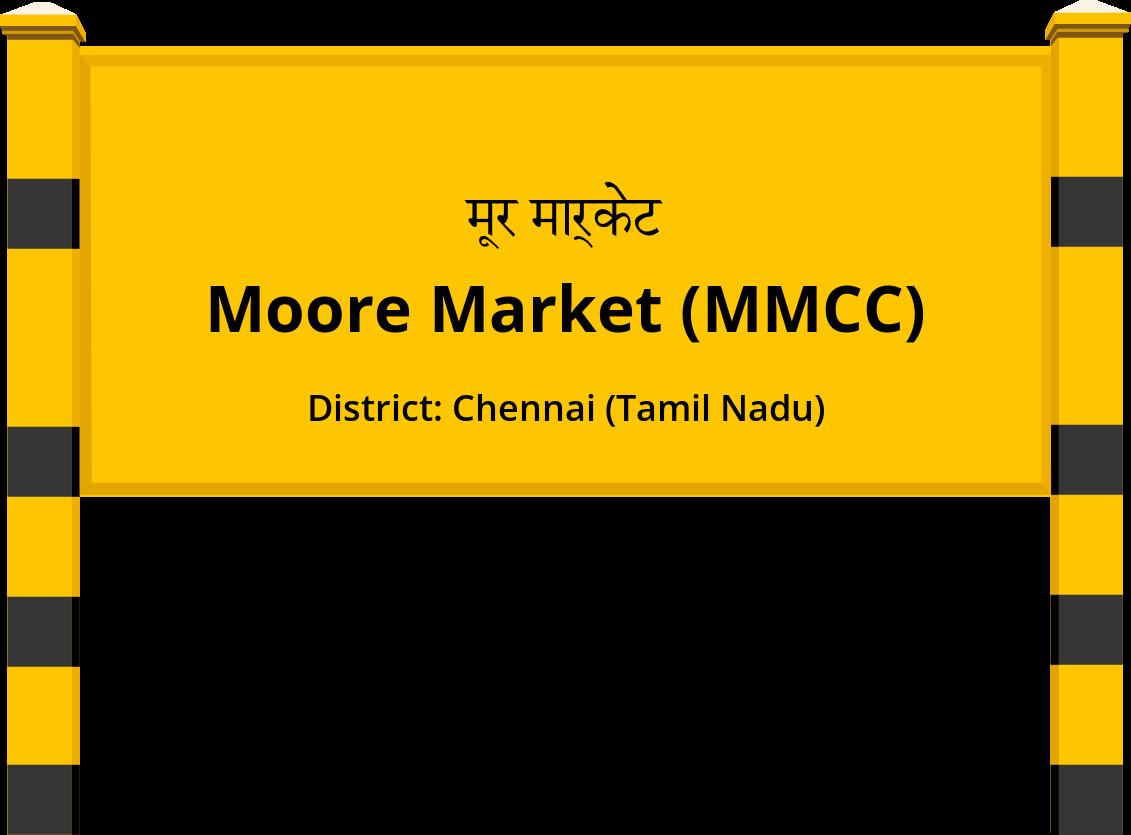 Moore Market (MMCC) Railway Station