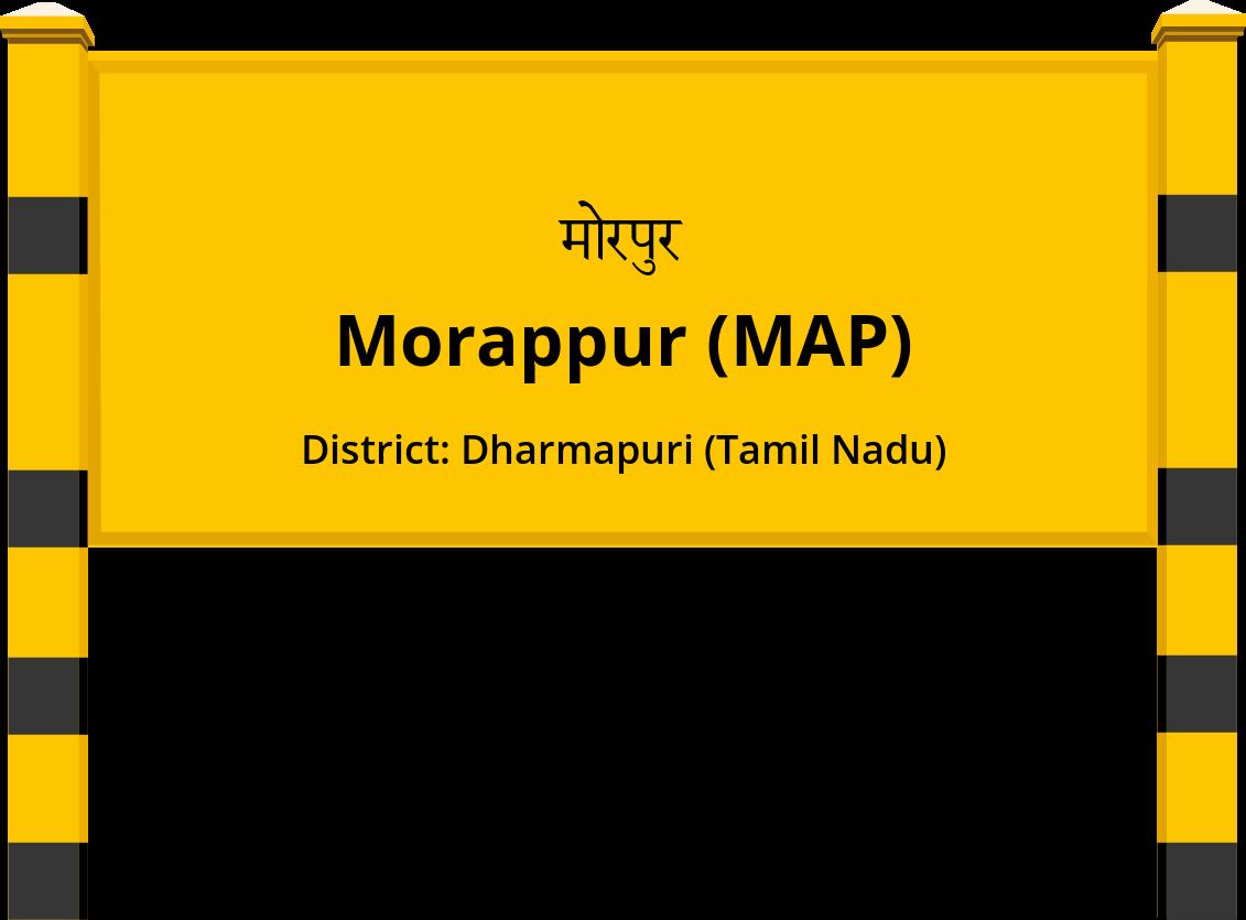 Morappur (MAP) Railway Station