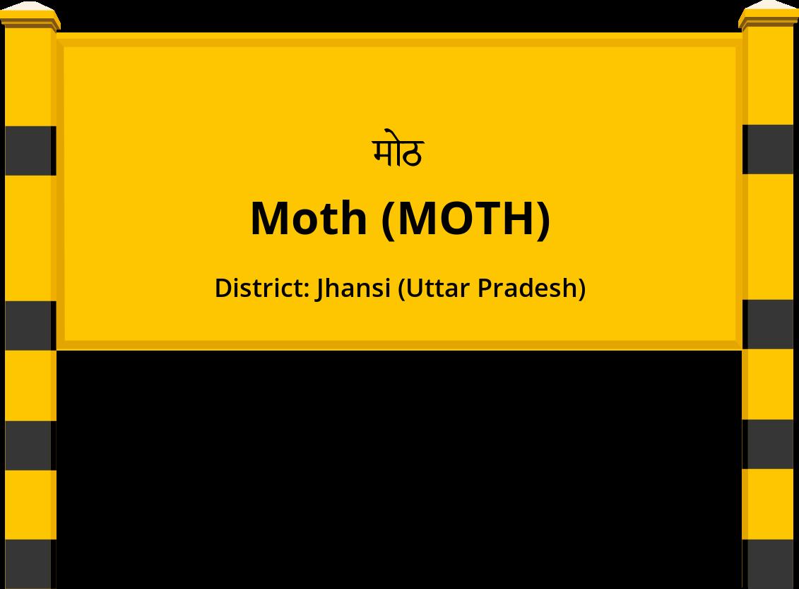 Moth (MOTH) Railway Station