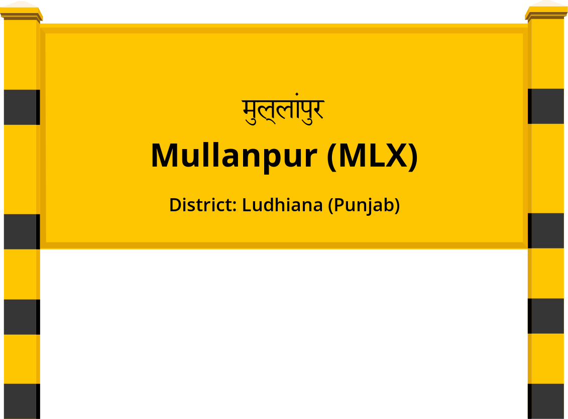 Mullanpur (MLX) Railway Station