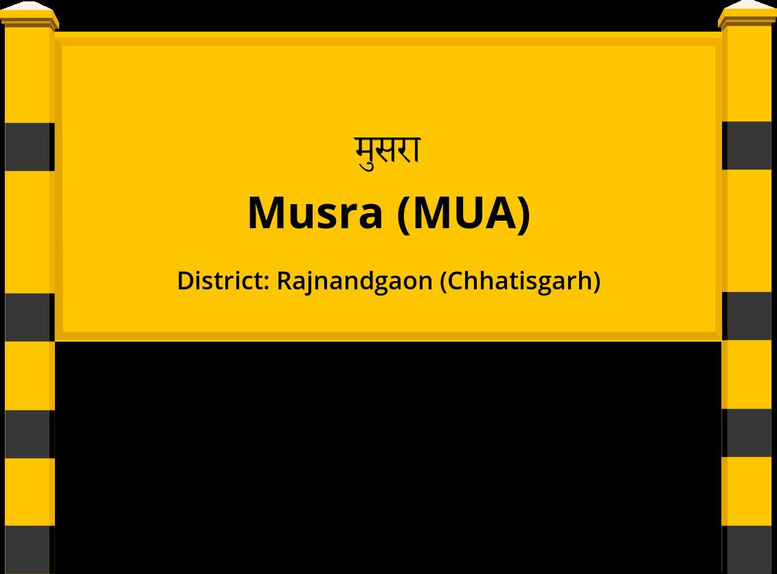Musra (MUA) Railway Station