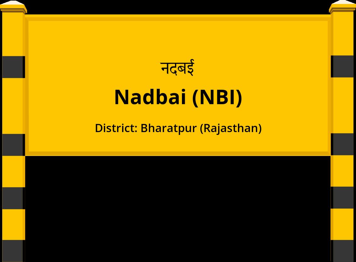 Nadbai (NBI) Railway Station