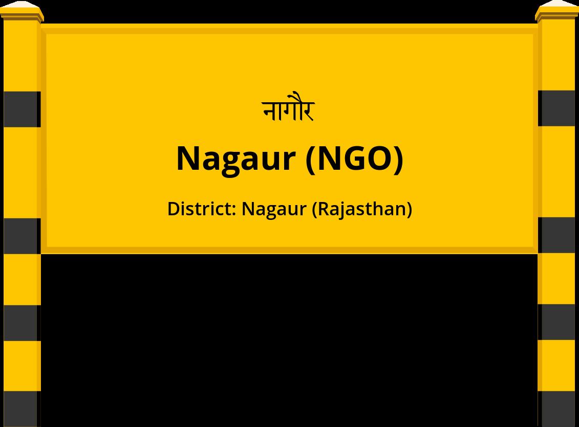 Nagaur (NGO) Railway Station