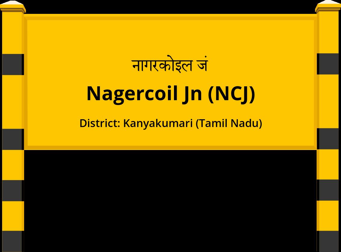 Nagercoil Jn (NCJ) Railway Station