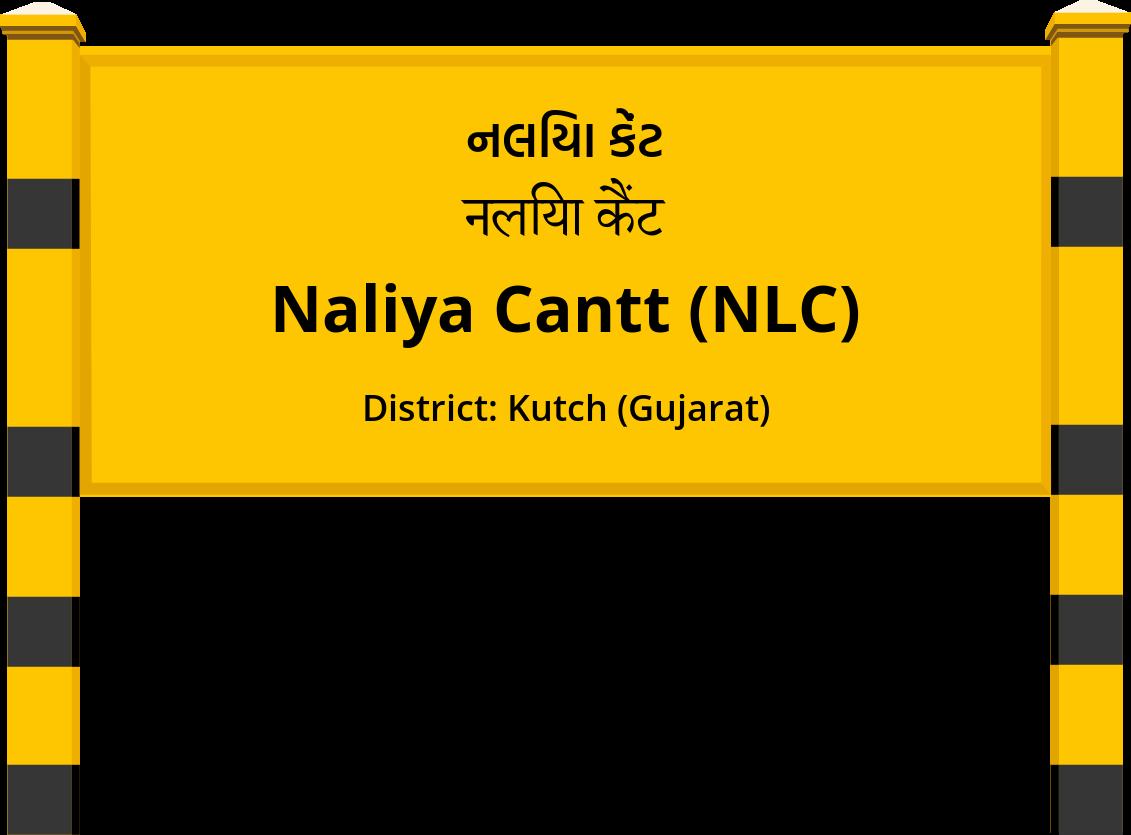 Naliya Cantt (NLC) Railway Station