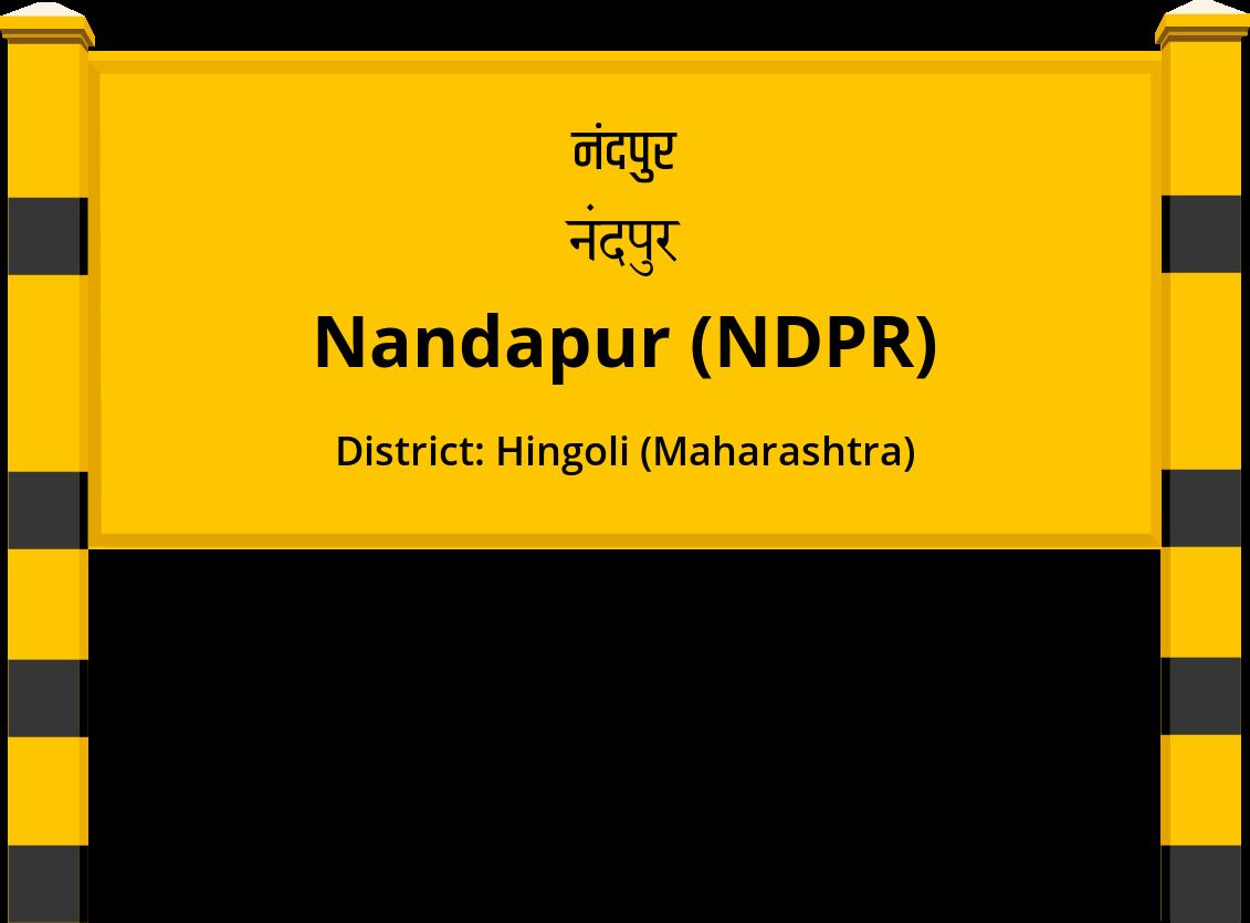 Nandapur (NDPR) Railway Station