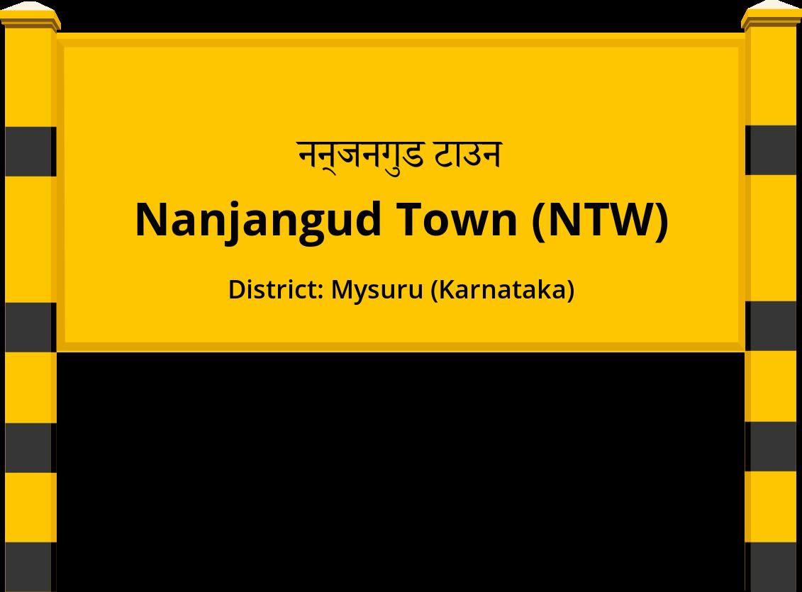 Nanjangud Town (NTW) Railway Station