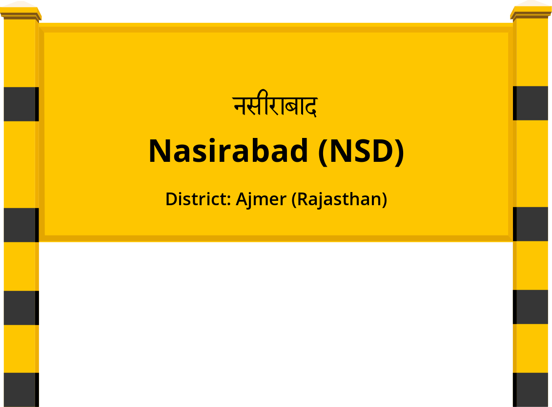 Nasirabad (NSD) Railway Station