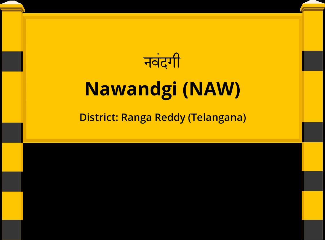 Nawandgi (NAW) Railway Station