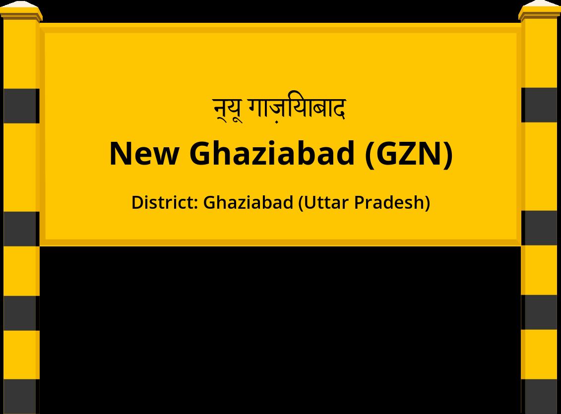 New Ghaziabad (GZN) Railway Station