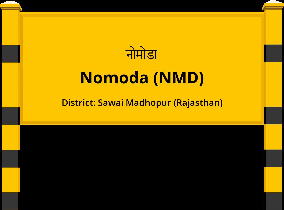 Nomoda (NMD) Railway Station