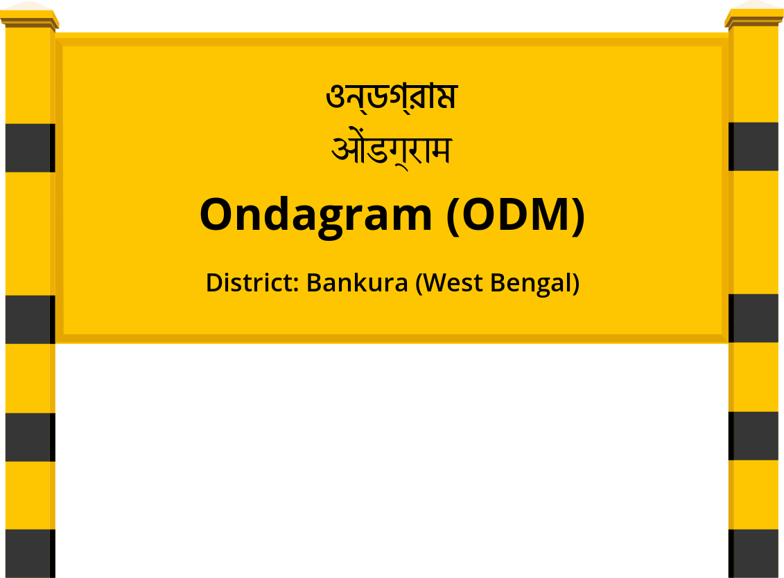 Ondagram (ODM) Railway Station