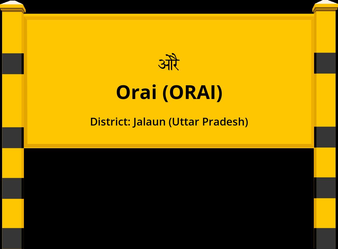Orai (ORAI) Railway Station