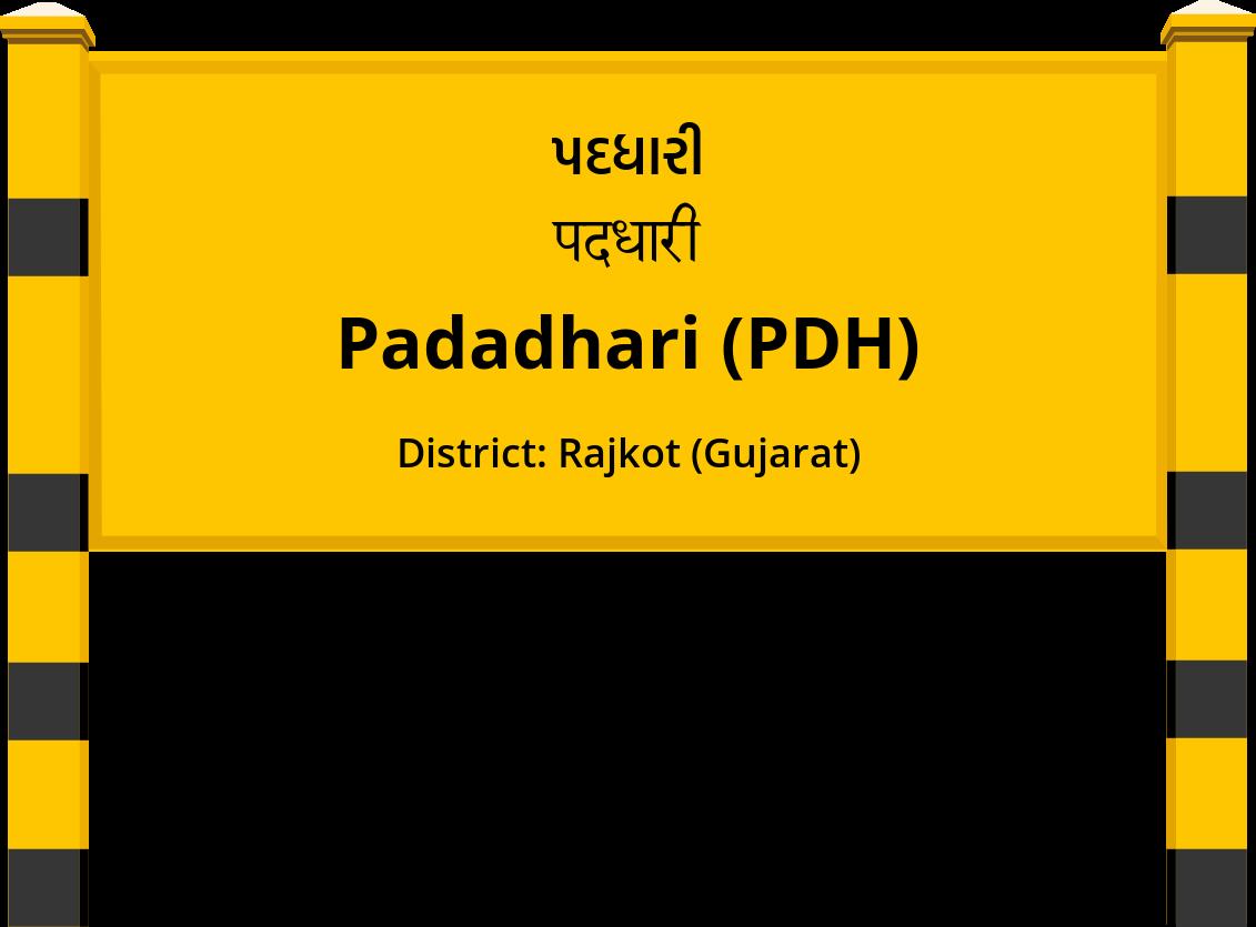 Padadhari (PDH) Railway Station