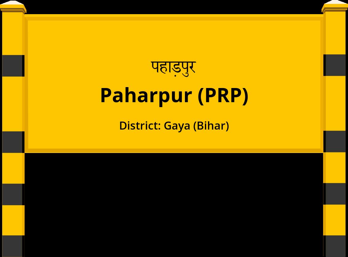 Paharpur (PRP) Railway Station