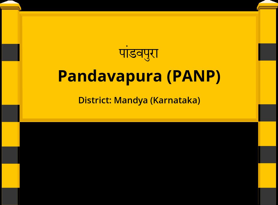 Pandavapura (PANP) Railway Station
