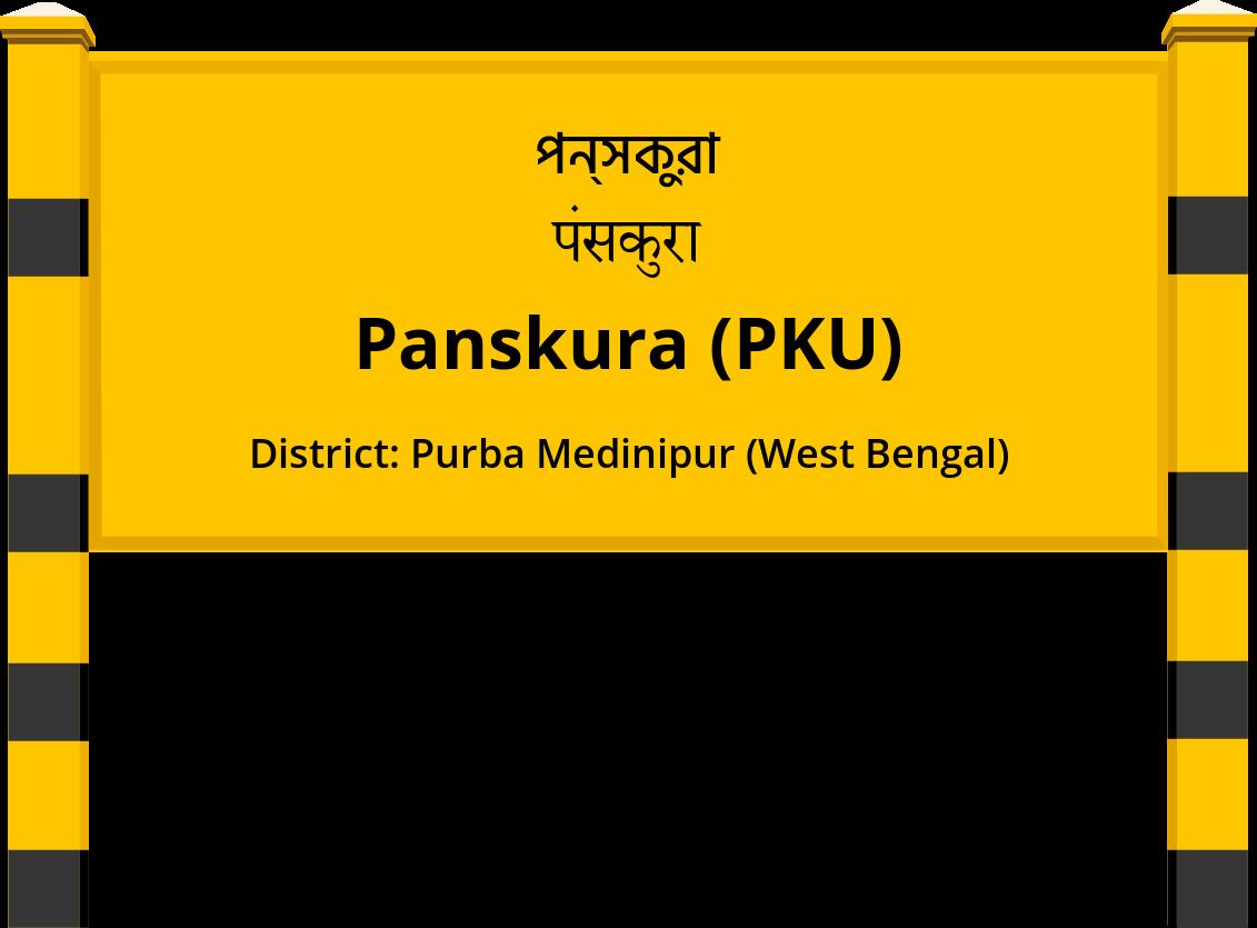 Panskura (PKU) Railway Station