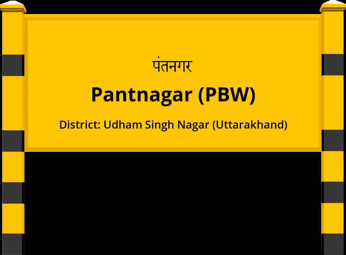 Pantnagar (PBW) Railway Station