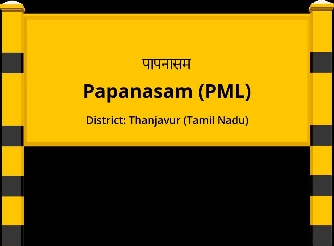 Papanasam (PML) Railway Station