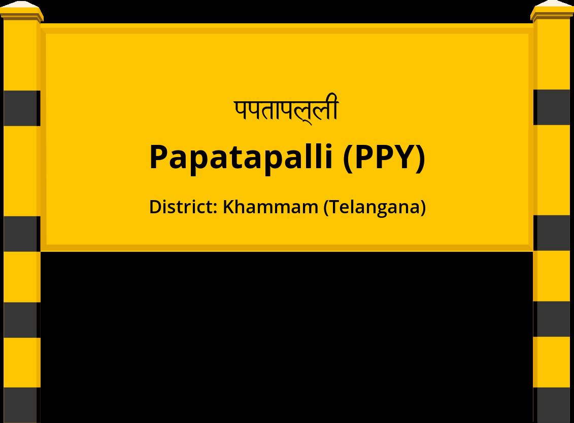 Papatapalli (PPY) Railway Station