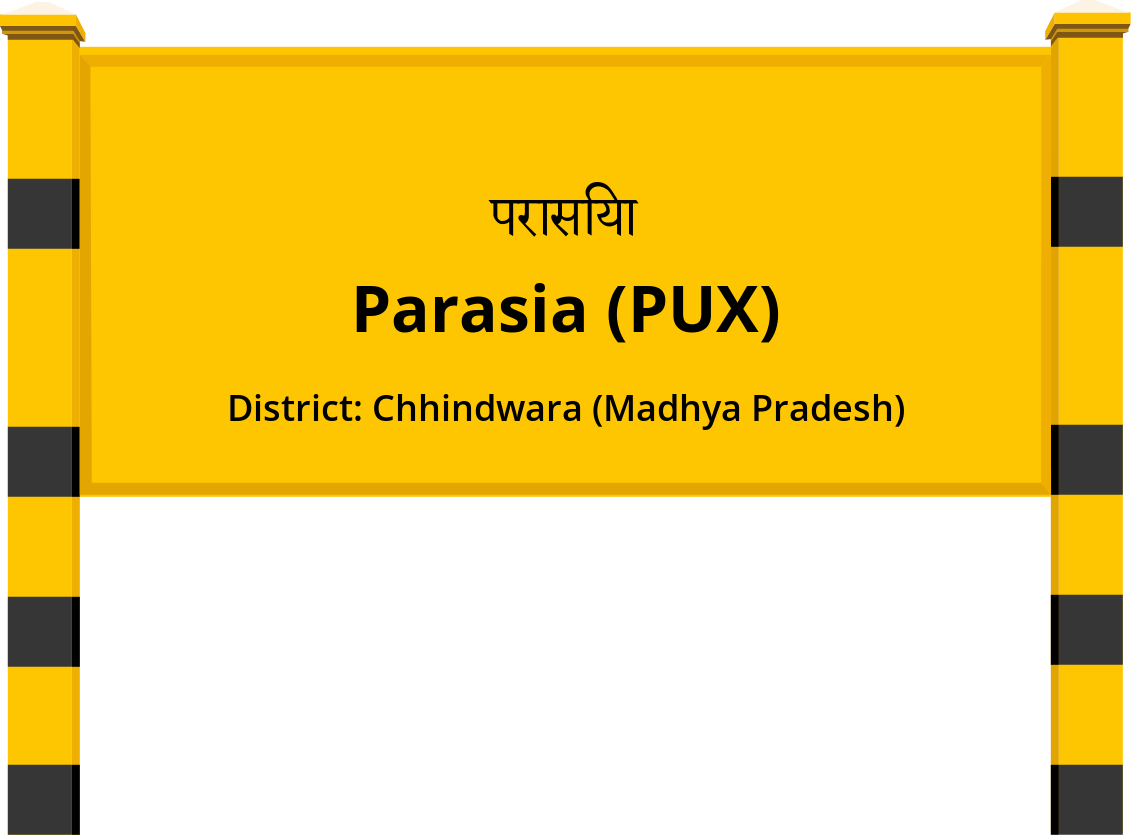 Parasia (PUX) Railway Station