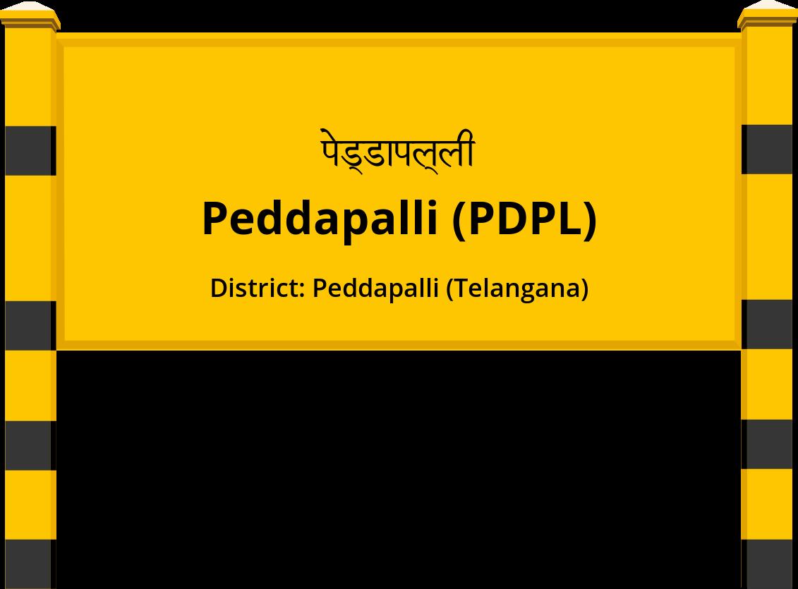 Peddapalli (PDPL) Railway Station