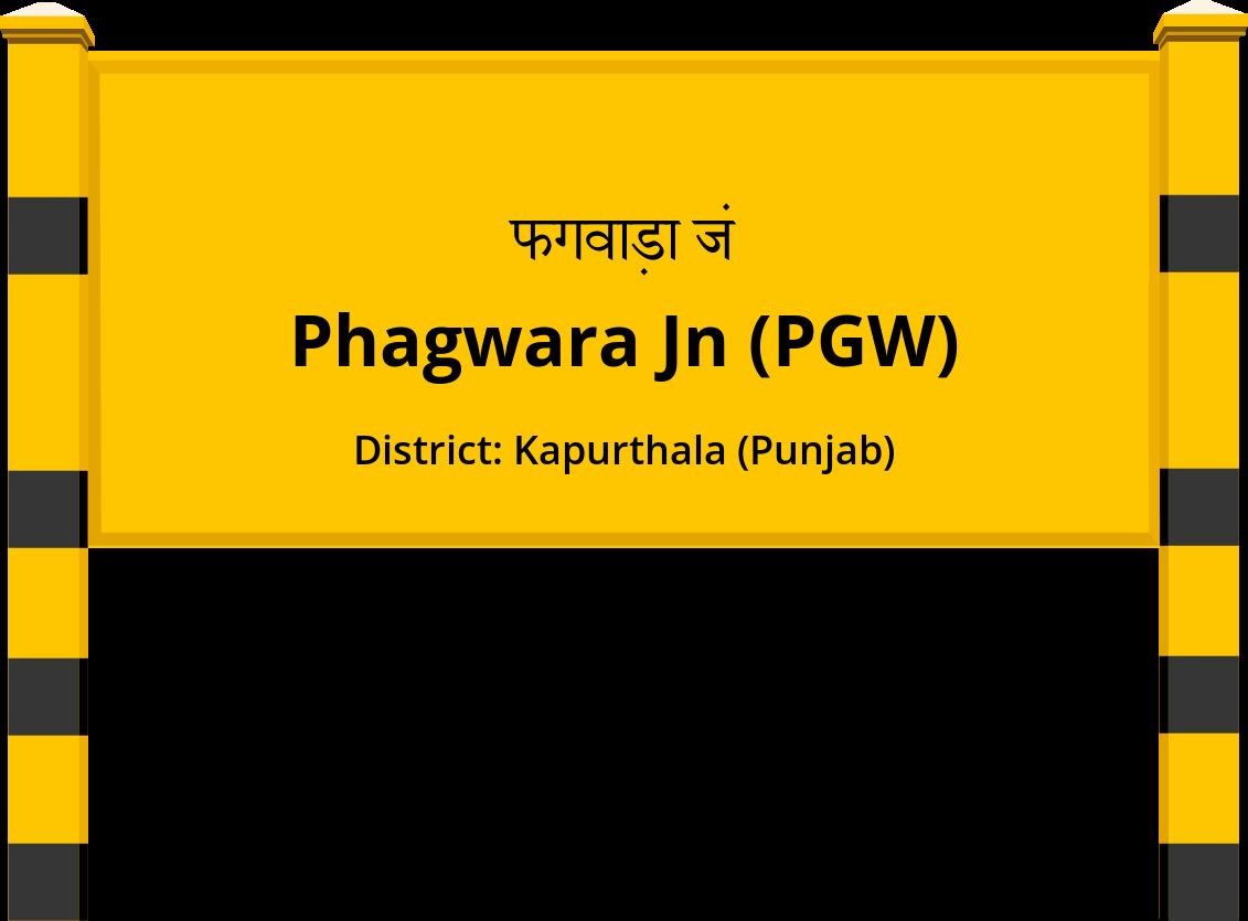 Phagwara Jn (PGW) Railway Station