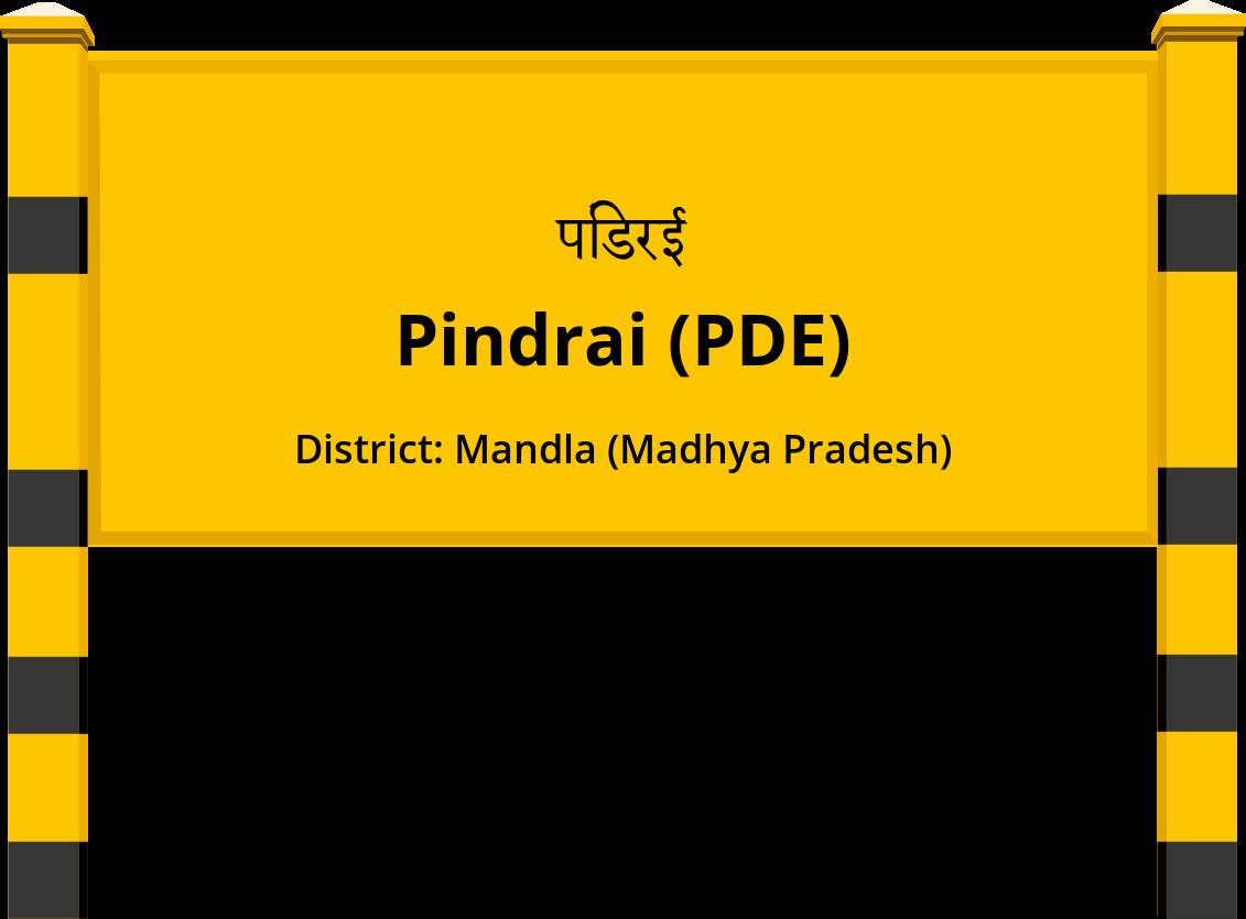 Pindrai (PDE) Railway Station