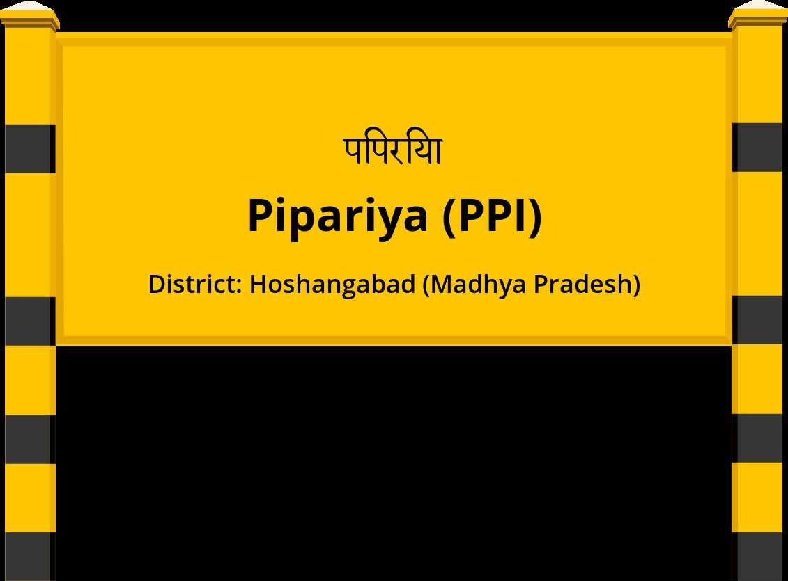 Pipariya (PPI) Railway Station