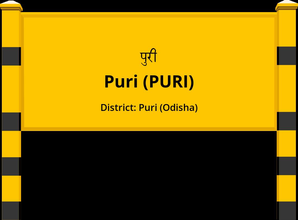 Puri (PURI) Railway Station