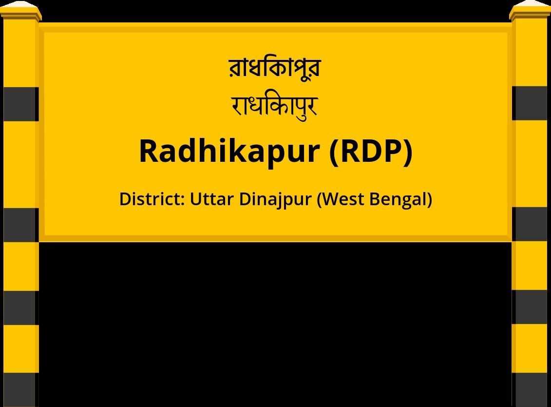 Radhikapur (RDP) Railway Station