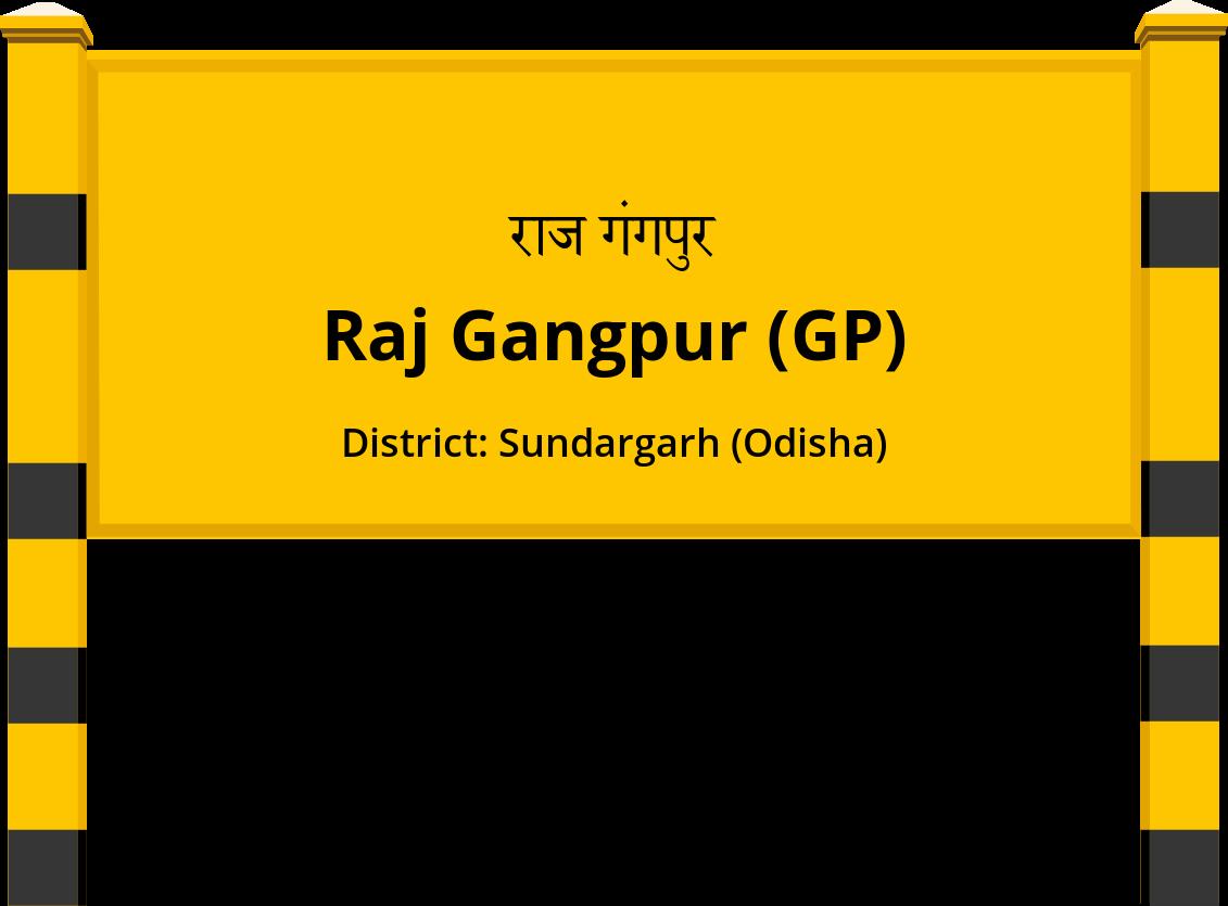 Raj Gangpur (GP) Railway Station