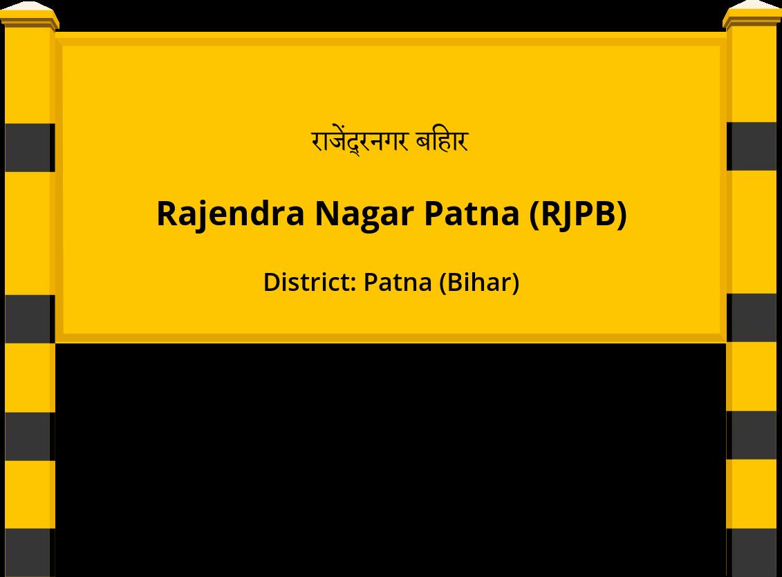Rajendra Nagar Patna (RJPB) Railway Station