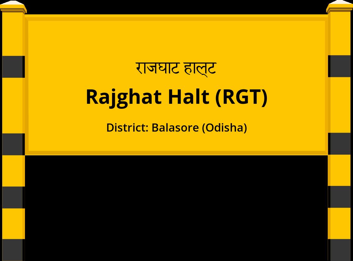 Rajghat Halt (RGT) Railway Station