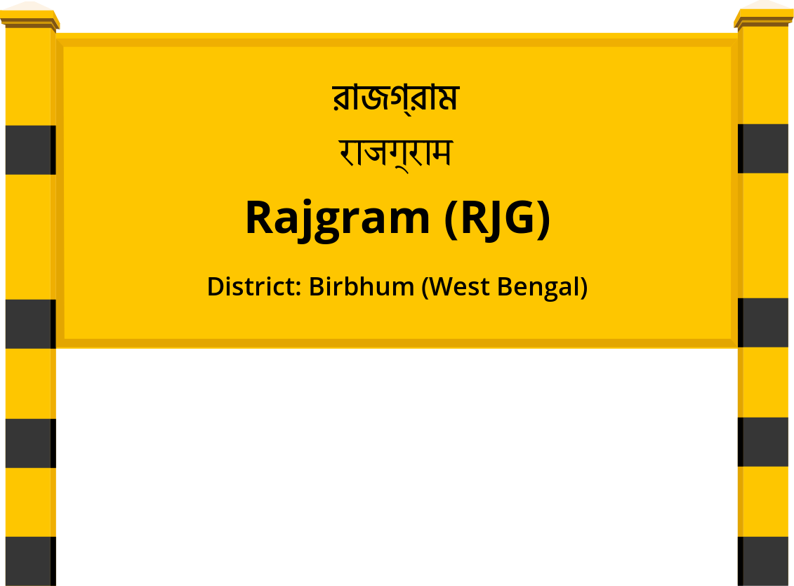 Rajgram (RJG) Railway Station