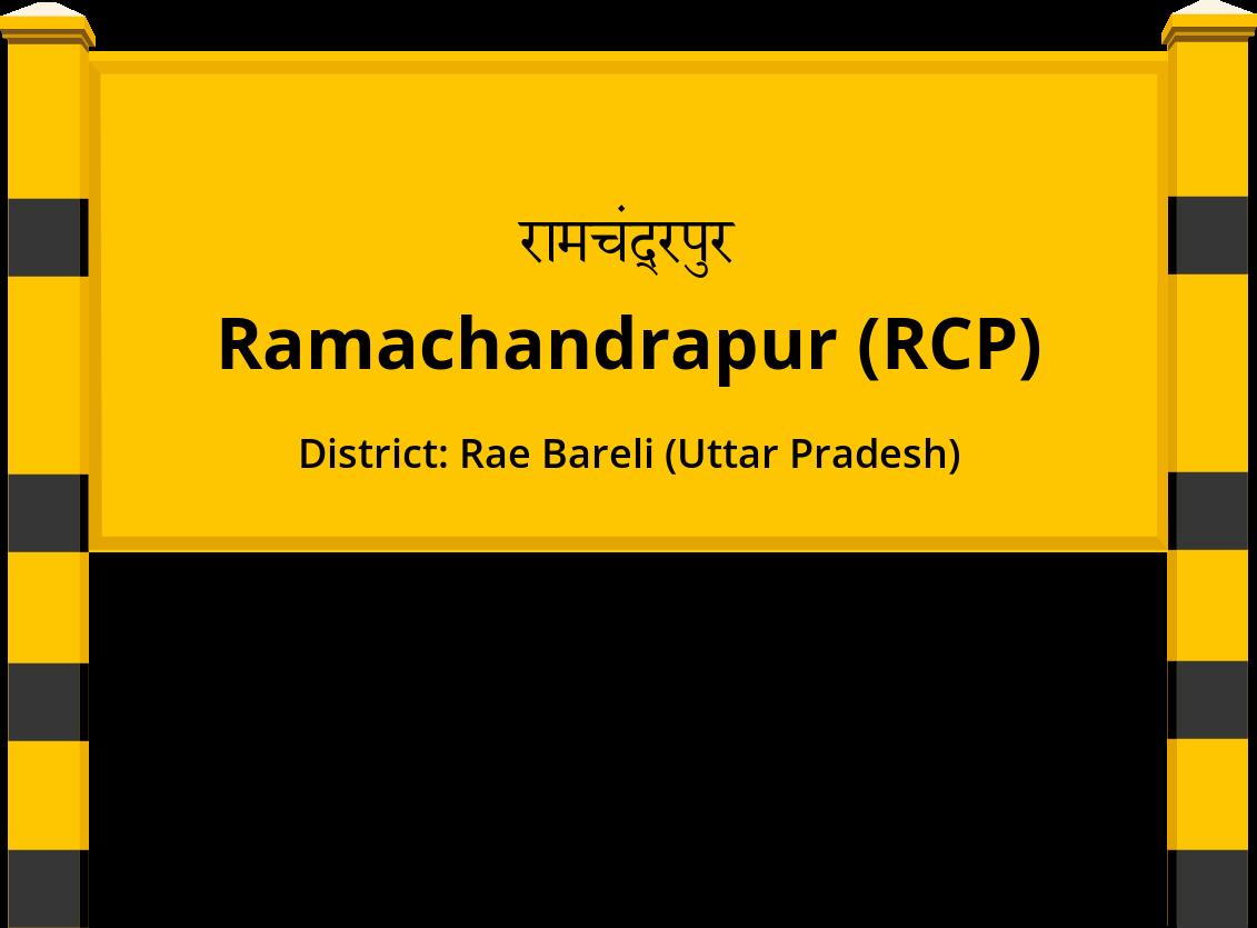 Ramachandrapur (RCP) Railway Station