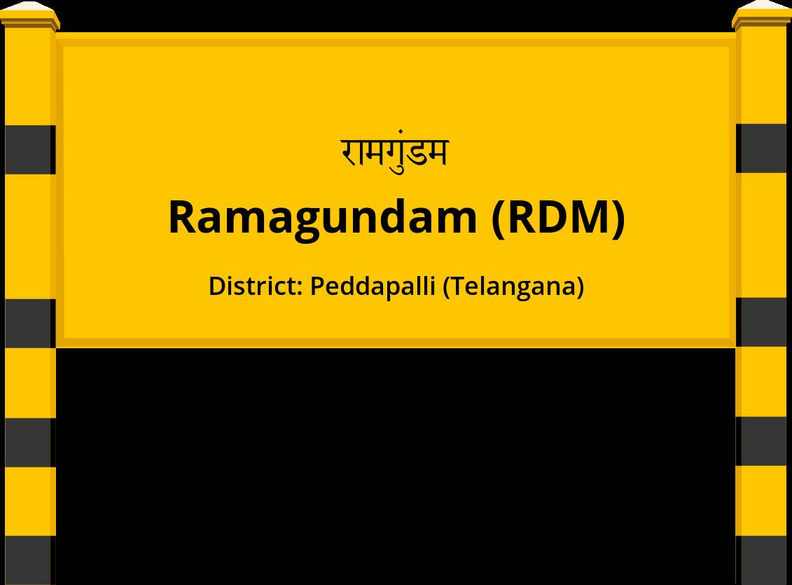 Ramagundam (RDM) Railway Station