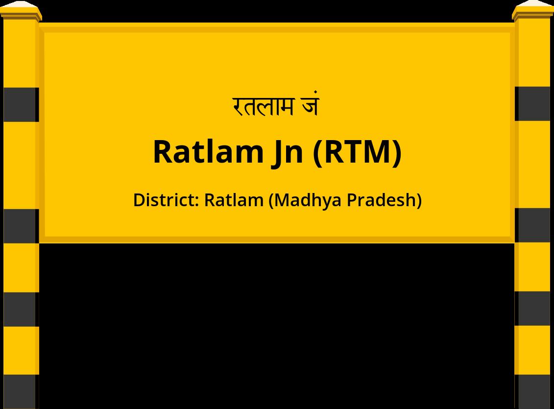 Ratlam Jn (RTM) Railway Station