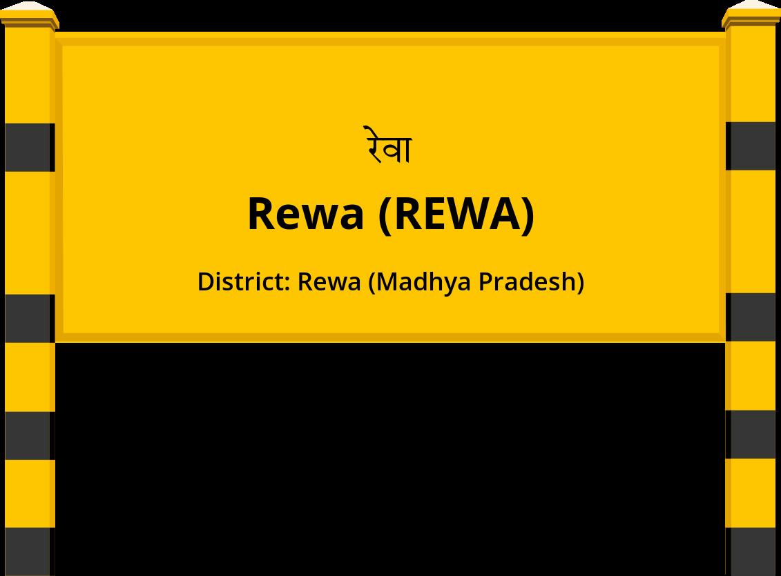 Rewa (REWA) Railway Station