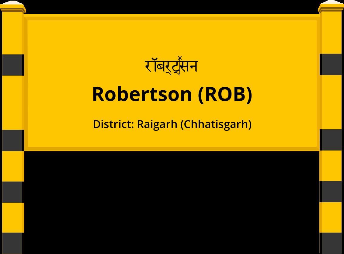 Robertson (ROB) Railway Station